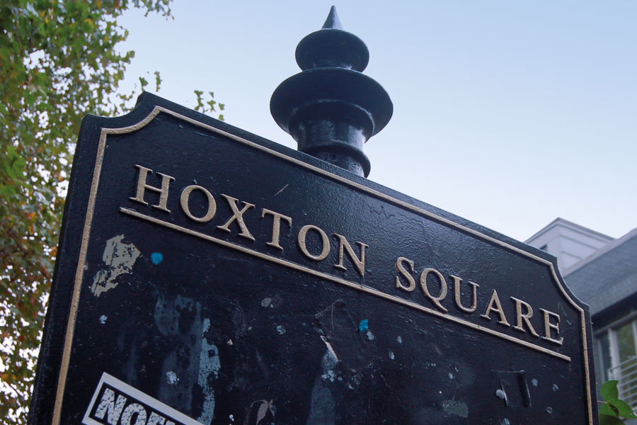 Hoxton-sign